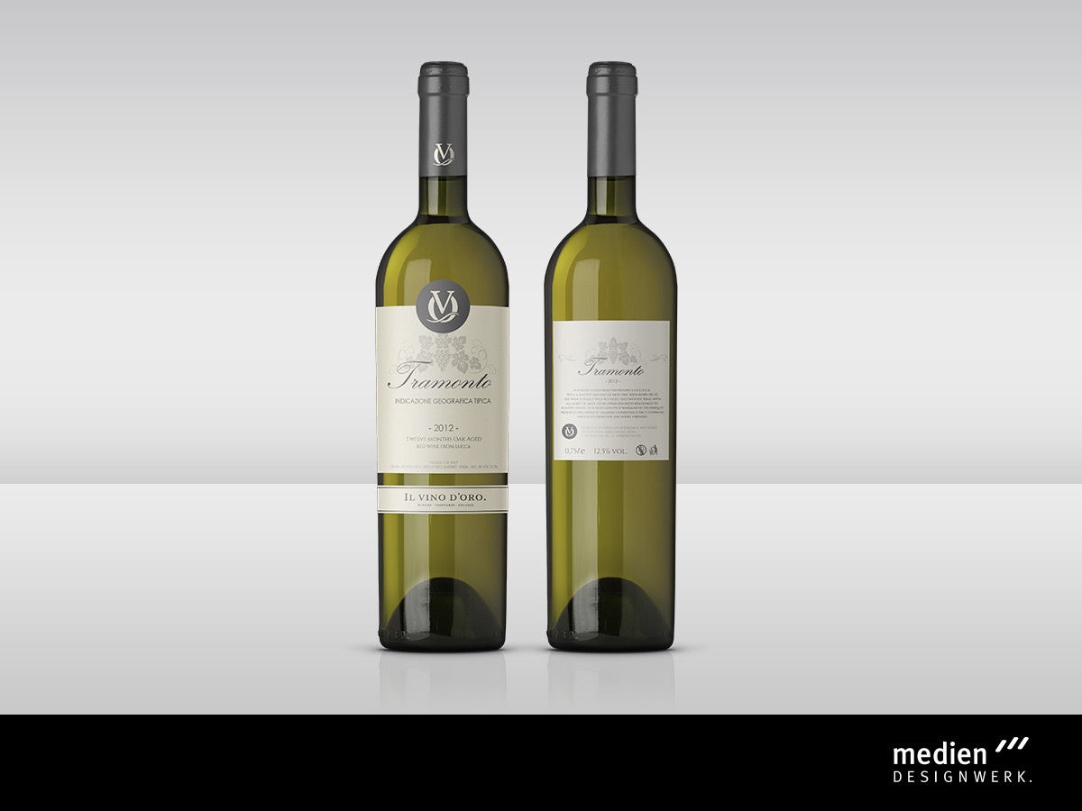 Etikettendesign - Werbeagentur Fichtelgebirge / Oberfranken