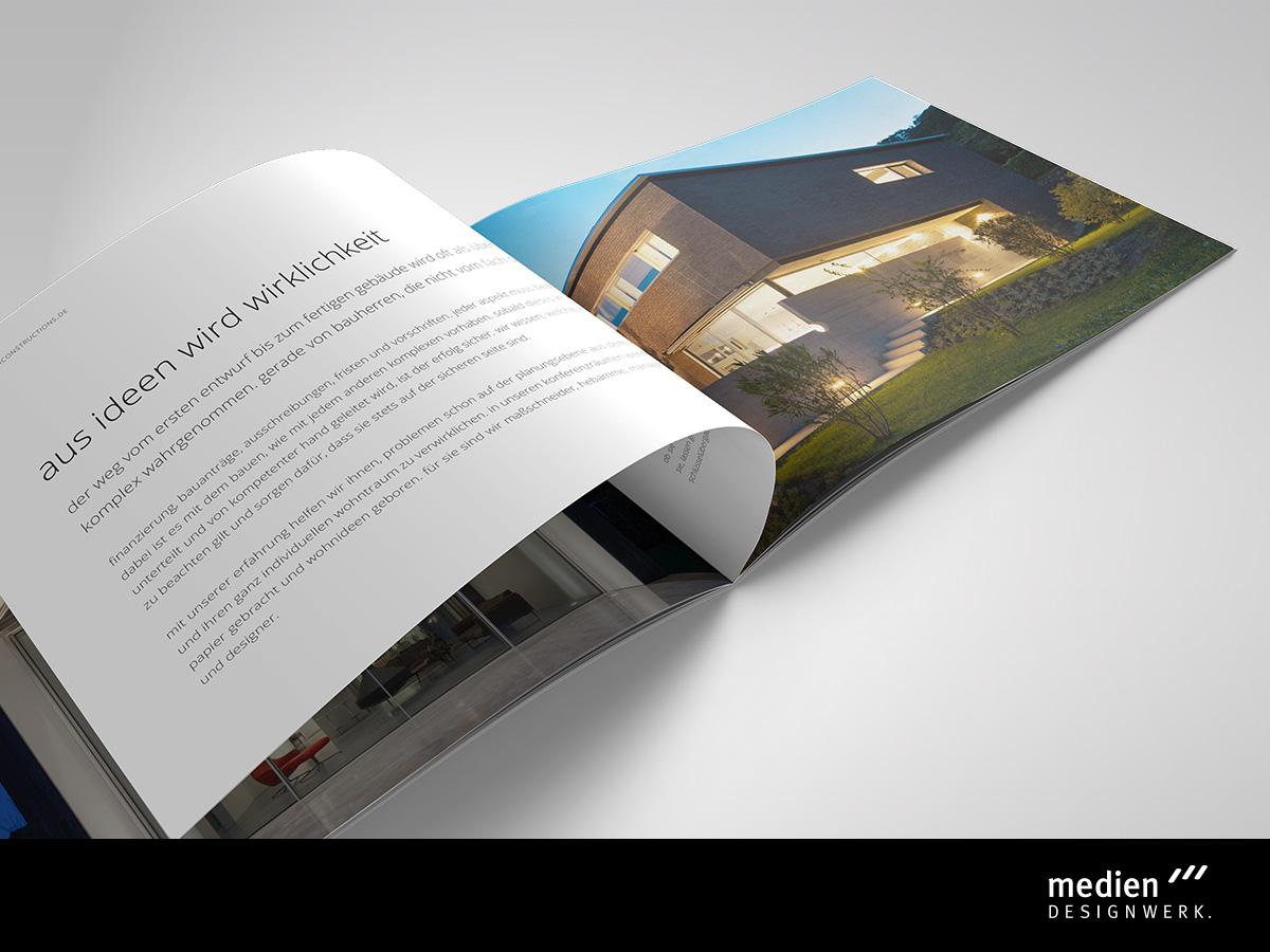 Imagebroschüre Design - Werbeagentur Fichtelgebirge / Oberfranken